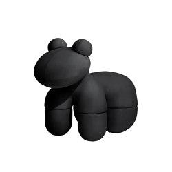 Pony, upholstery: mid-night black   Poufs   Eero Aarnio Originals