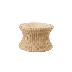 Mushroom stool large, Rattan natural | Beistelltische | Eero Aarnio Originals