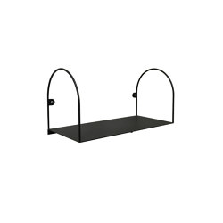 Bow Shelf Small  Black | Estantería | Swedish Ninja