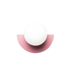 C.Lamp Bubblegum Pink | Wall lights | Swedish Ninja