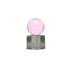 Oh My Mini Glass Sculpture Pink & Tourmaline | Objects | Swedish Ninja