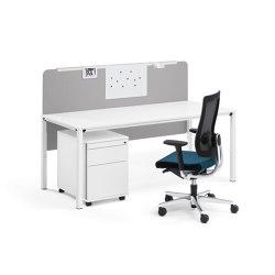 easy screen | Sistemas de mesas fonoabsorbentes | Sedus Stoll