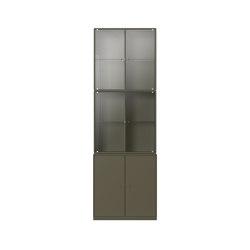 Montana RISE   Oregano   Display cabinets   Montana Furniture