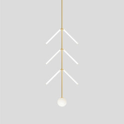 Arrow 427OL-P02 | Suspended lights | Atelier Areti