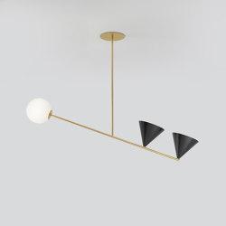 Balancing variations 368OL-P02 | Suspended lights | Atelier Areti