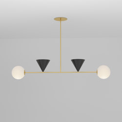 Balancing variations 368OL-P04 | Suspended lights | Atelier Areti