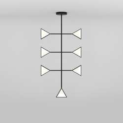 Epic triangles 365OL-P01 | Suspended lights | Atelier Areti