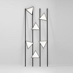 Lines and triangles 358OL-F01   Floor lights   Atelier Areti