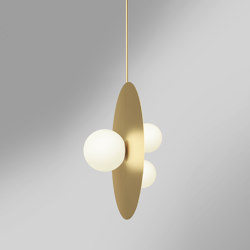 Plates and spheres 403OL-P01 | Suspended lights | Atelier Areti
