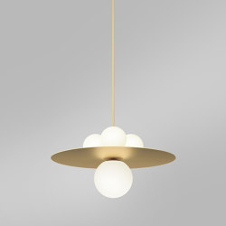 Plates and spheres 403OL-P02 | Suspended lights | Atelier Areti