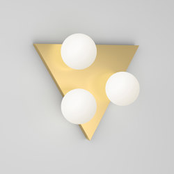 Shapes with small globes 369OL-W01   Wall lights   Atelier Areti
