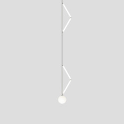 Side triangle 426OL-P03 | Suspended lights | Atelier Areti