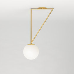 Triangle and globe 329OL-C01 | Ceiling lights | Atelier Areti