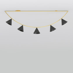 Triangle girlande 385OL-C01 | Ceiling lights | Atelier Areti