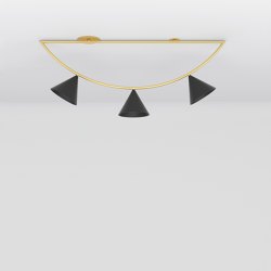 Triangle girlande 385OL-C02 | Ceiling lights | Atelier Areti