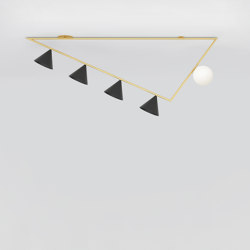 Triangle girlande 385OL-C03 | Ceiling lights | Atelier Areti