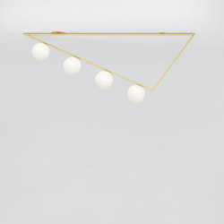 Triangle girlande 385OL-C04 | Ceiling lights | Atelier Areti