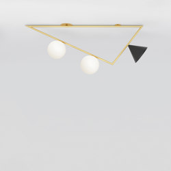 Triangle girlande 385OL-C05 | Ceiling lights | Atelier Areti