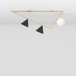 Triangle girlande 385OL-C06 | Lampade plafoniere | Atelier Areti