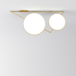 Triangle variations 356OL-C04 | Ceiling lights | Atelier Areti