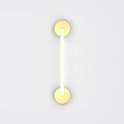 Tube circle triangle 447OL-W03 | Wall lights | Atelier Areti