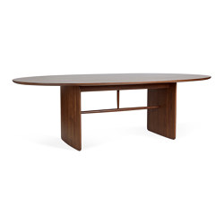 Pennon | Large Walnut Pennon Table | Dining tables | ercol