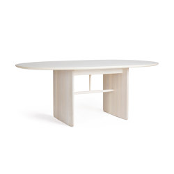 Pennon | Small Ash Pennon Table | Dining tables | L.Ercolani