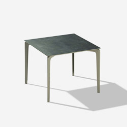 AllSize square table with stoneware top | Tables de repas | Fast