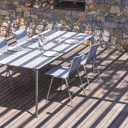 AllSize rectangular table with stoneware top | Dining tables | Fast