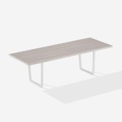 Orizon rectangular table | Tables de repas | Fast