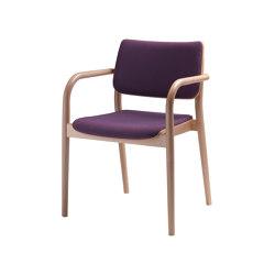 Viena Holzstuhl gepolstert | Chairs | seledue