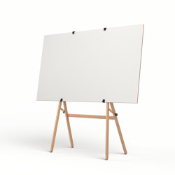 Easel on gliders | Flip charts / Writing boards | Studiotools