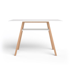 Standing Table on gliders | Tavoli alti | Studiotools