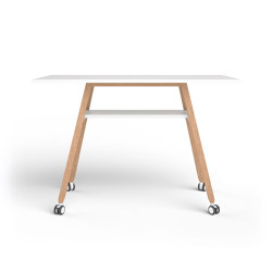 Standing Table on wheels | Tavoli alti | Studiotools