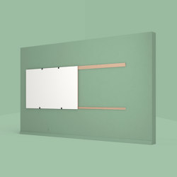 Wall Rails – Whiteboard Wall Mount | Flip charts / Writing boards | Studiotools