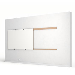 Wall Rails | Flip charts / Writing boards | Studiotools