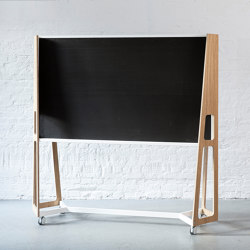 Frame with panel | Privacy screen | Artis Space Systems GmbH