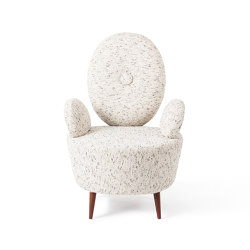 AYI | ARMCHAIR | Tweed | Armchairs | Maison Dada