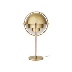 Multi-Lite Table Lamp | All Brass | Table lights | GUBI