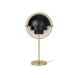 Multi-Lite Table Lamp | Brass/Black | Table lights | GUBI