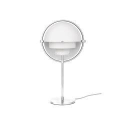 Multi-Lite Table Lamp | Chrome/White | Table lights | GUBI