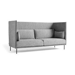 Silhouette 3 Seater High Backed | Sofás | HAY