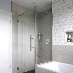 Eckdusche 100X120 | Shower screens | glasprofi24