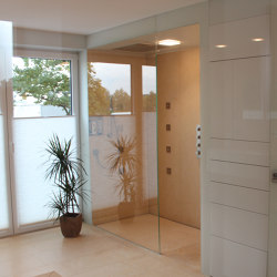 Walk-In Dusche Über Eck | Shower screens | glasprofi24