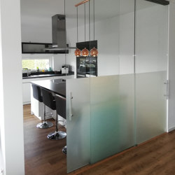 Mobil | Trennwand | Wall partition systems | glasprofi24