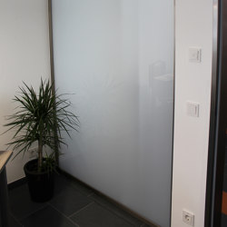 Slim | Trennwand ohne Tür | Wall partition systems | glasprofi24