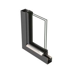 Jansen Art'System, steel, stainless steel and corten | Window types | Jansen