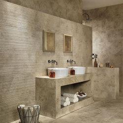Aix 3D Row Beige 40x80 | Ceramic tiles | Atlas Concorde