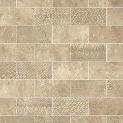 Aix Beige Minibrick Tumbled | Ceramic tiles | Atlas Concorde