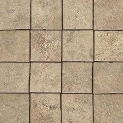 Aix Beige Mosaico Tumbled | Ceramic mosaics | Atlas Concorde